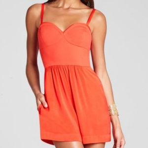 BCBGMaxAzria bcbg poppy romper Medium